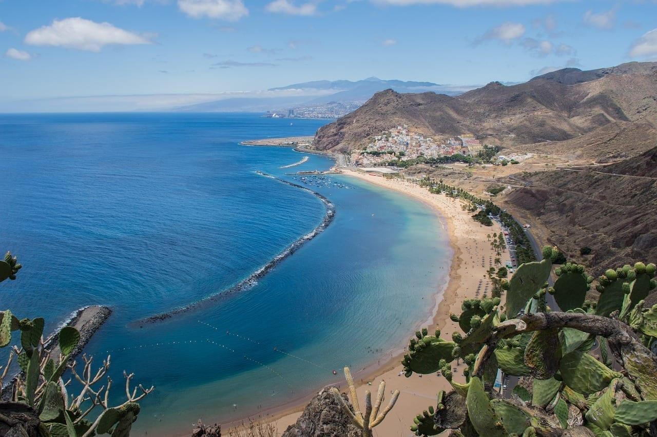 Sta Cruz De Tenerife Playa Paisaje España