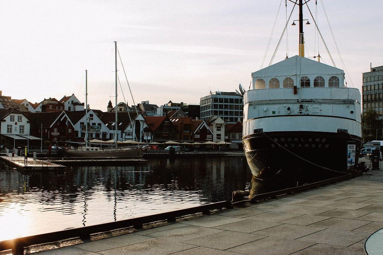 Stavanger Barco Noruega Noruega