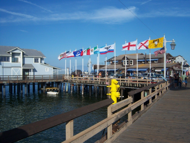 Stearn's Wharf, Santa Bárbara Santa Barbara CA Estados Unidos