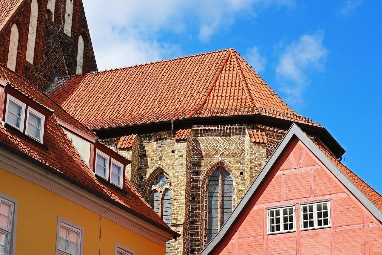 Stralsund Centro Historico Iglesia Alemania