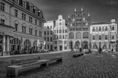 Stralsund Centro Historico Viejo Mercado Alemania