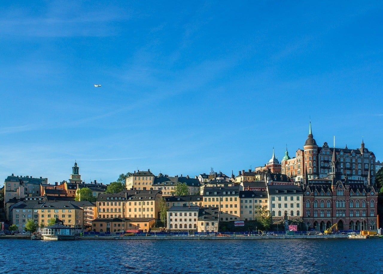 Suecia Estocolmo Muelle Suecia