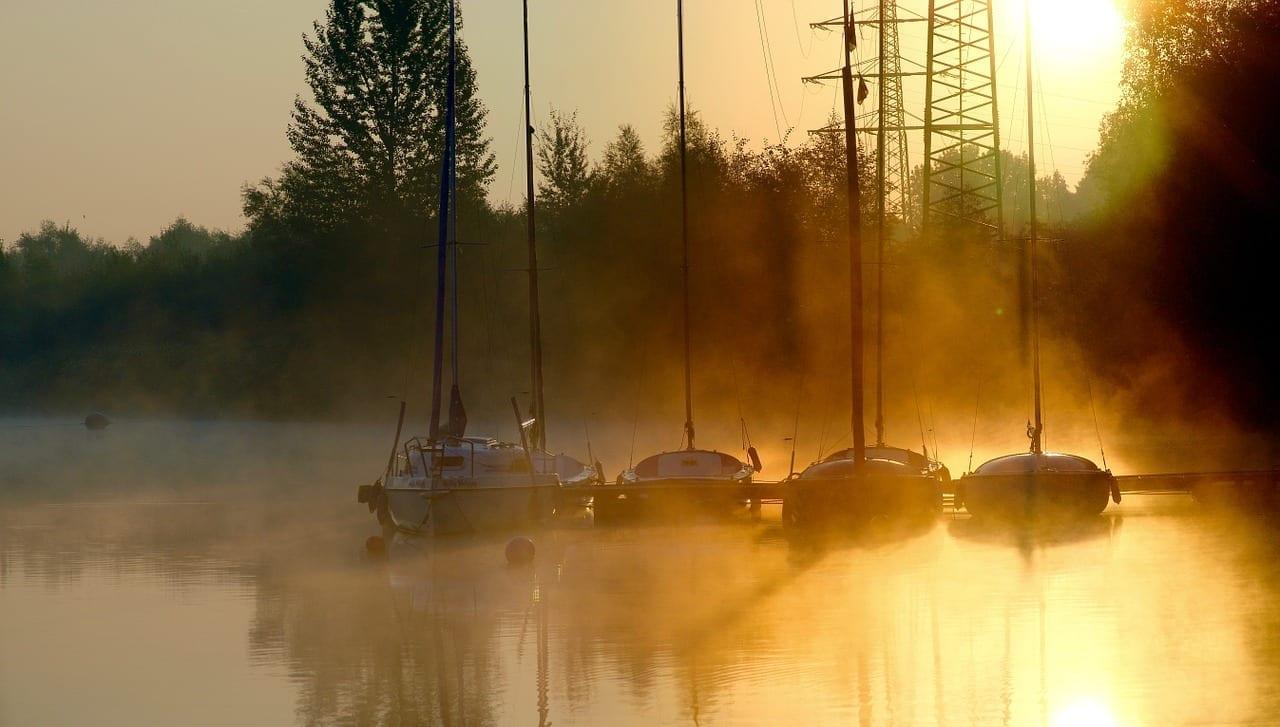 Sunrise Phoenix Lago Dortmund Alemania