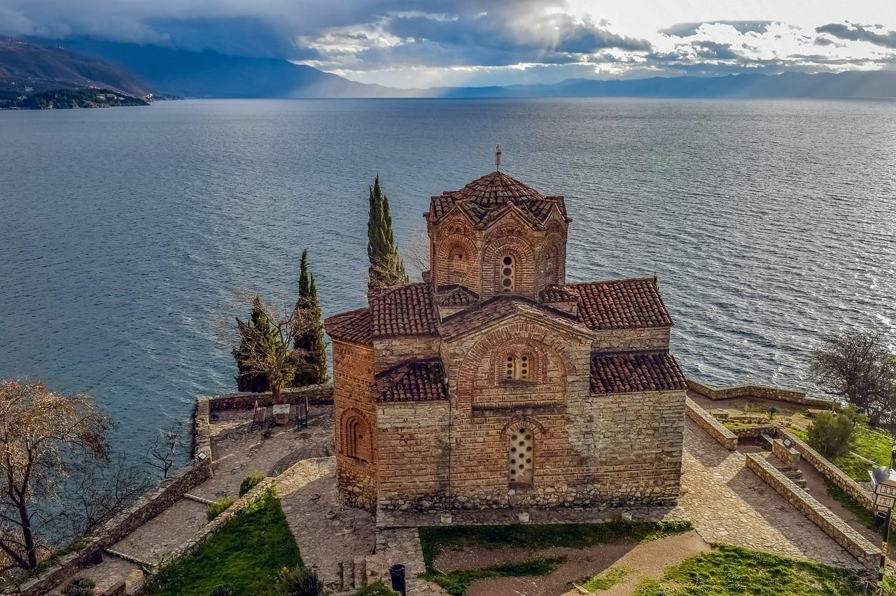 Sveti Jovan Kaneo Ohrid El Norte De Macedonia Macedonia