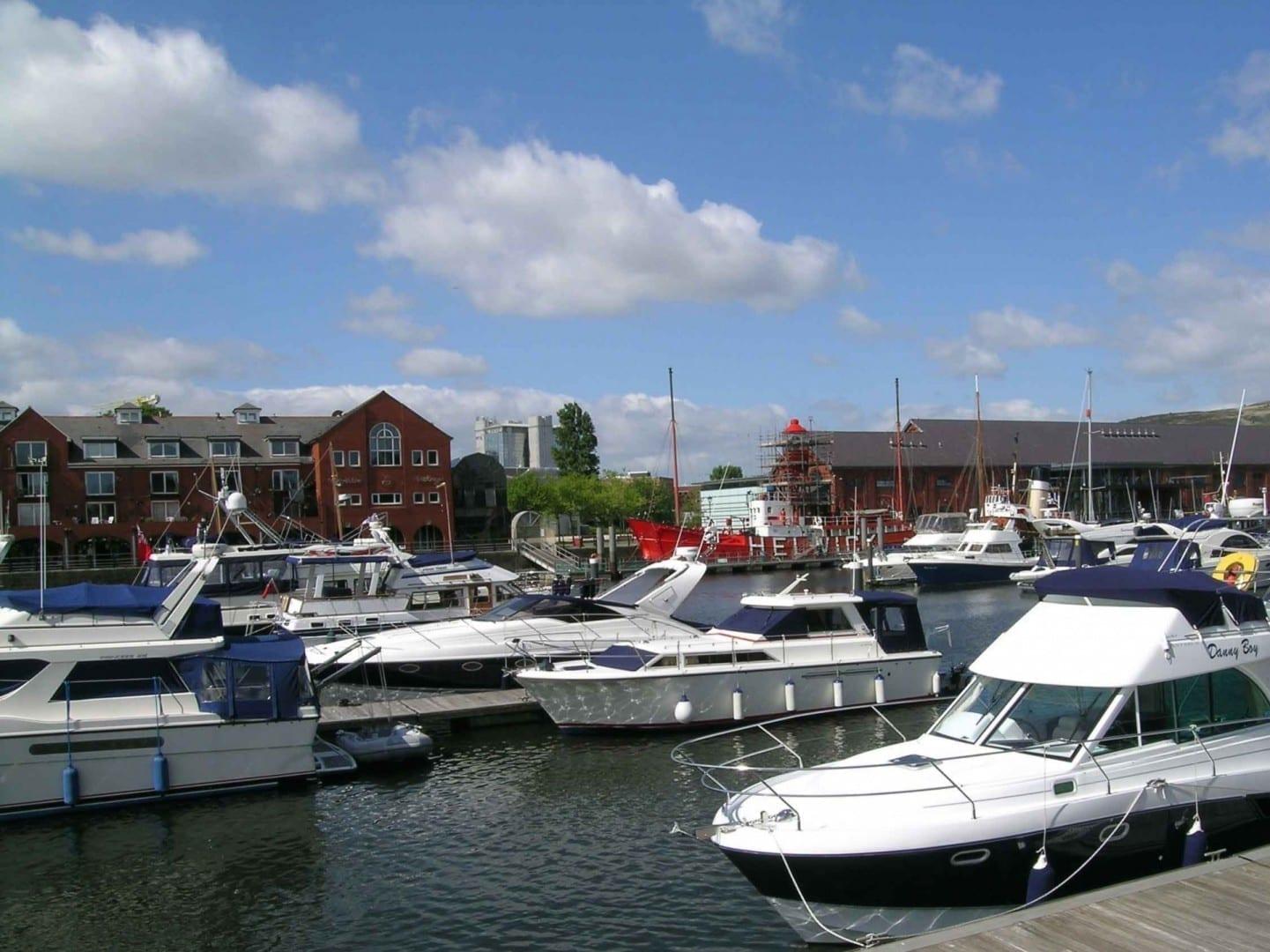 Swansea Marina Swansea Reino Unido
