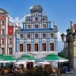 Szczecin Stettin Ciudad Polonia