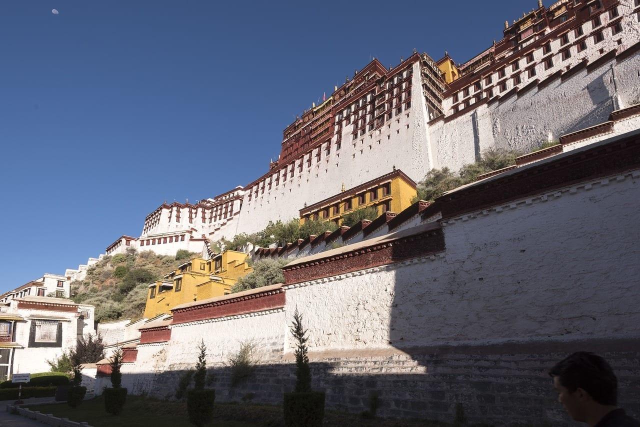 Tíbet Lhasa Arquitectura China