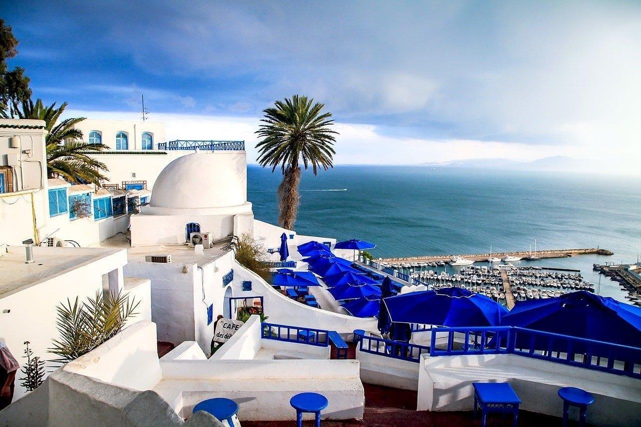 Túnez Komachi Junto Al Mar Túnez
