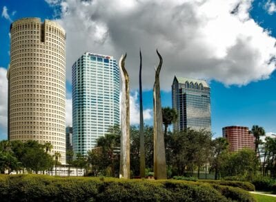 Tampa Florida Cielo Estados Unidos