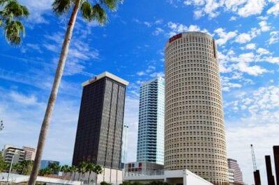 Tampa Florida Horizonte Estados Unidos