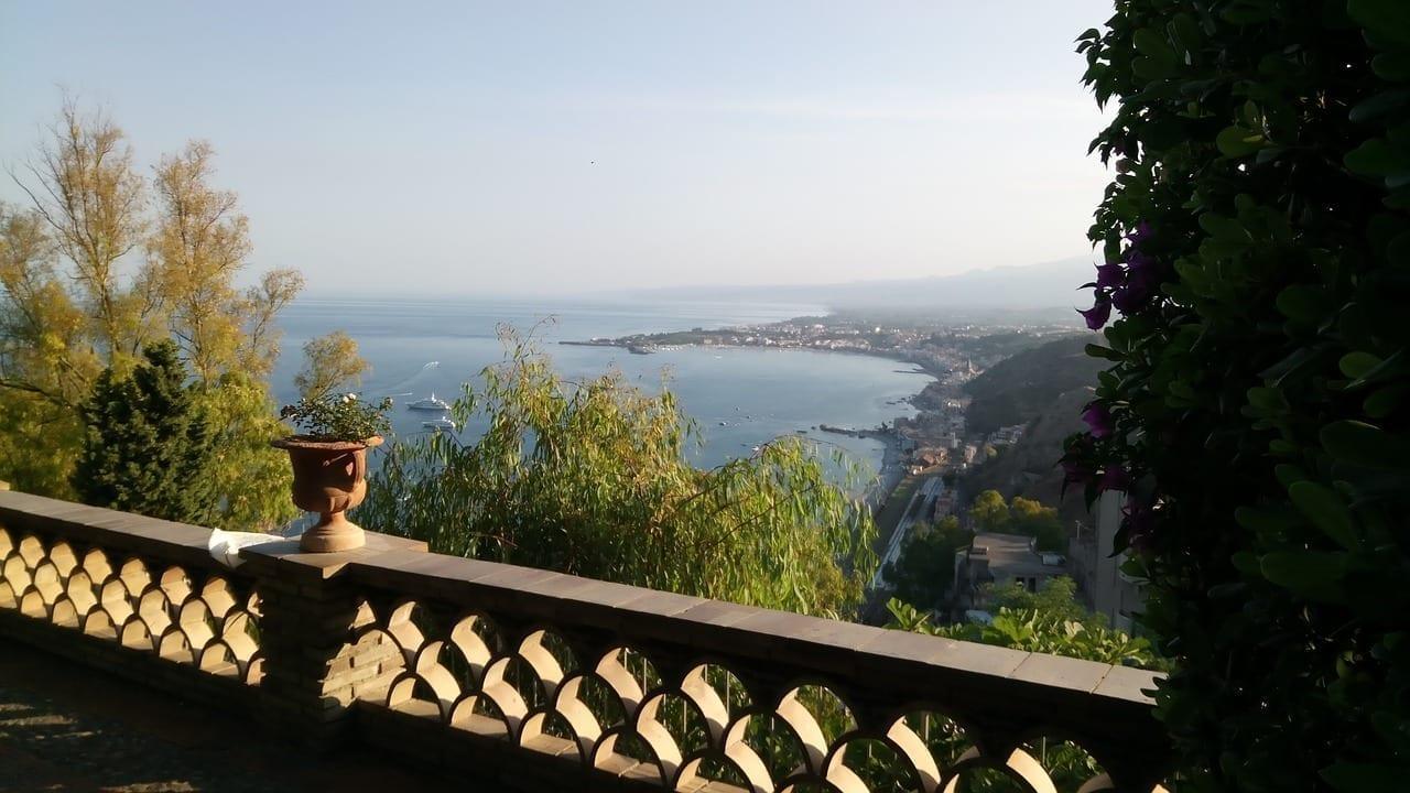 Taormina Sicilia Mar Italia