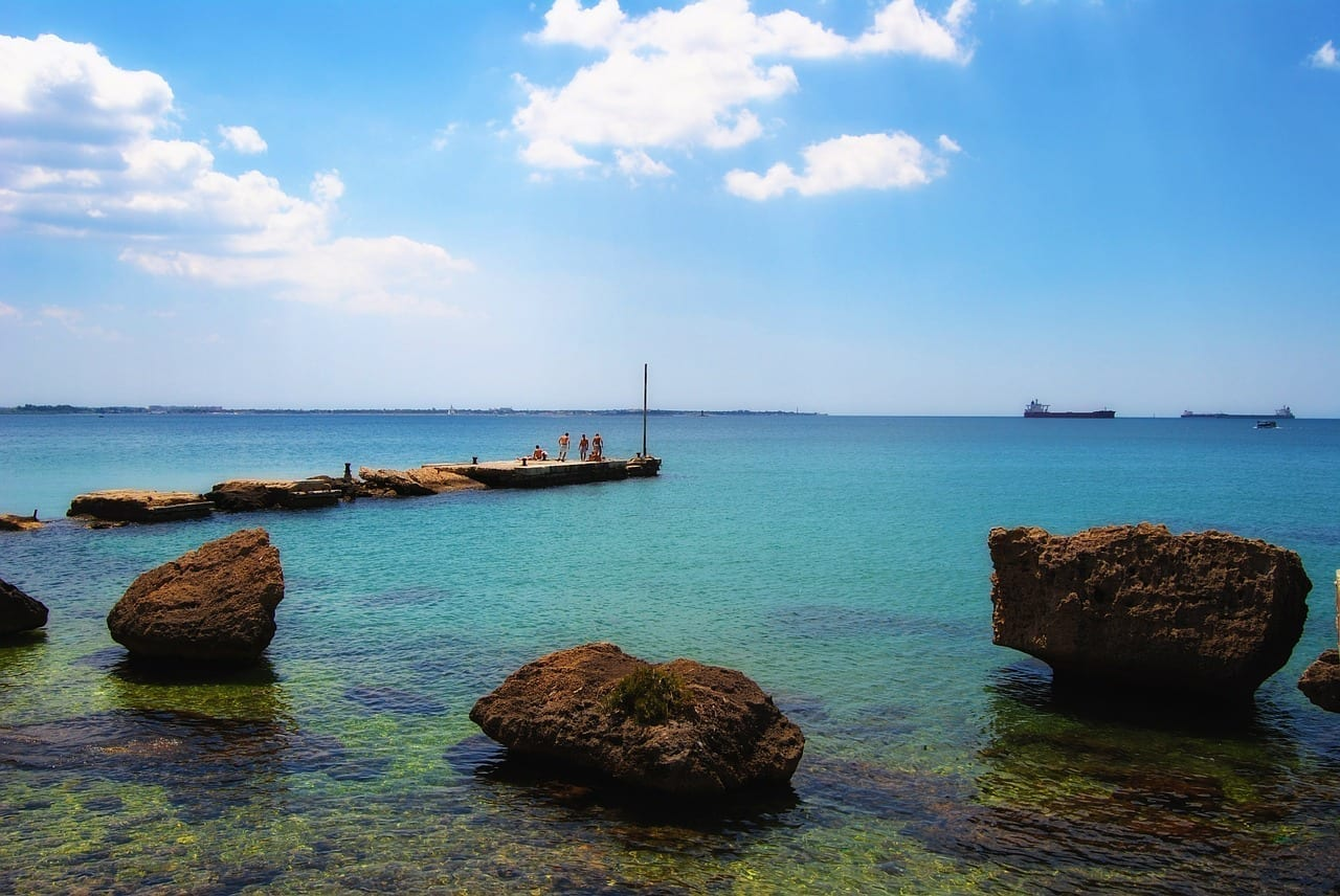 Taranto Mar Puerto Italia