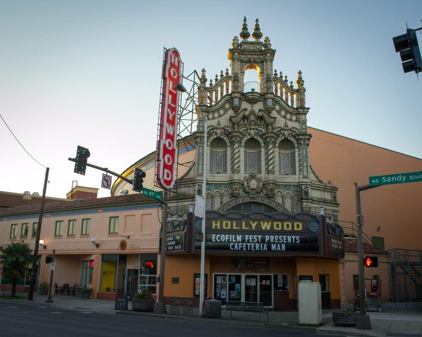 Teatro de Hollywood Portland OR Estados Unidos