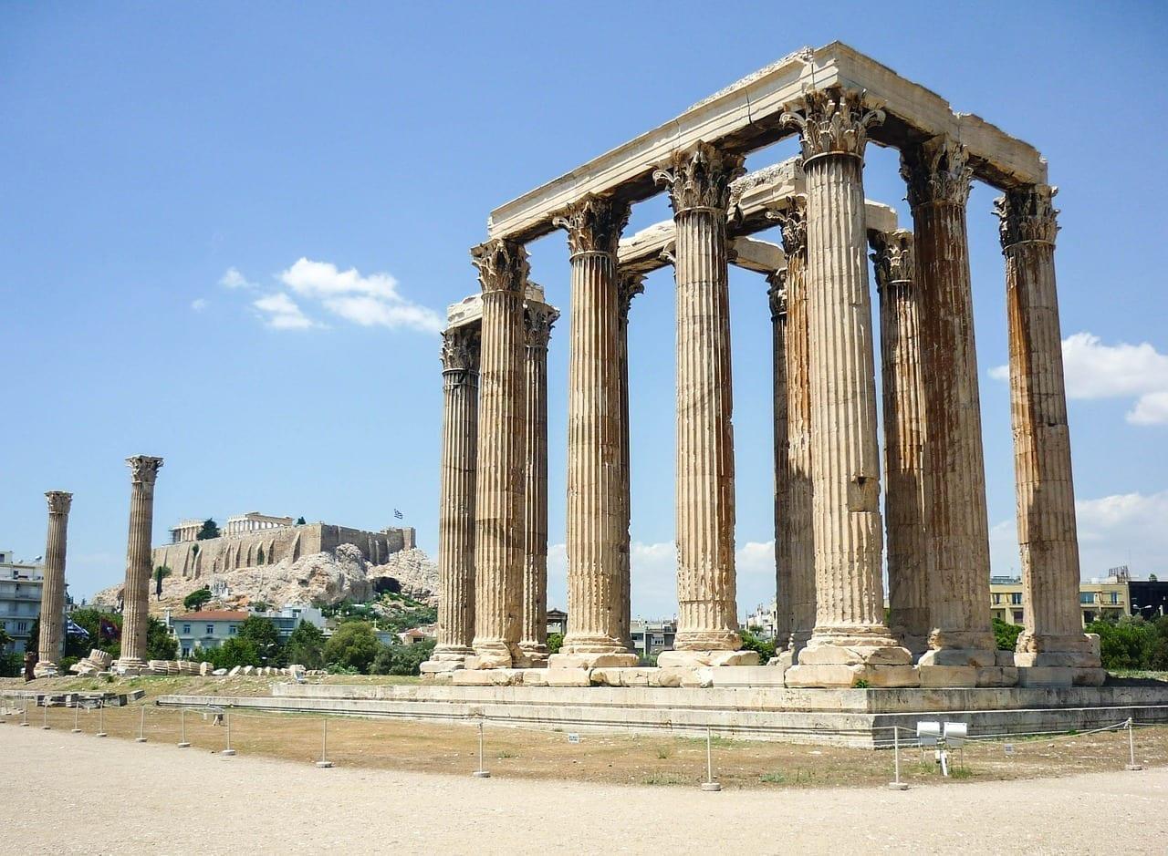 Templo Atenas Grecia Grecia