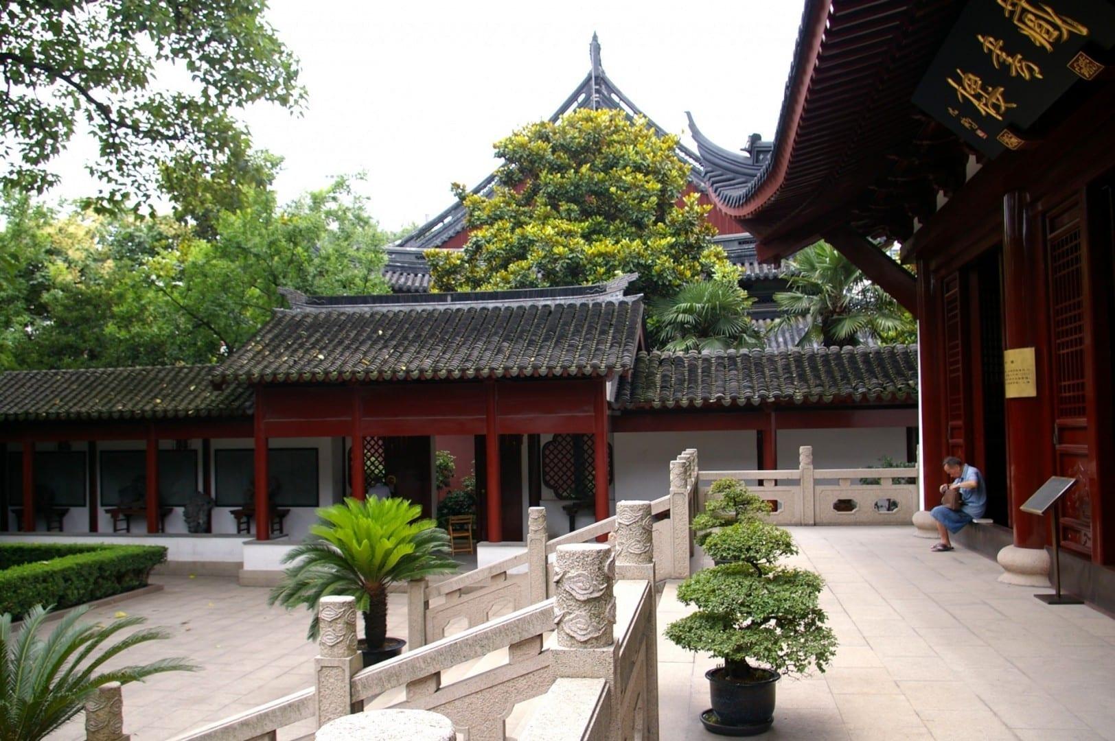 Templo de Confucio Shanghái China