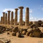 Templo de Heracles (Ercole), Agrigento Agrigento, Sicilia Italia