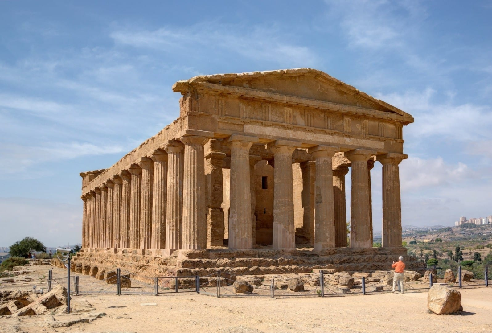 Templo de la Concordia, Agrigento Agrigento, Sicilia Italia