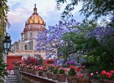 Templo de la Inmaculada Concepción de las Hermanas (Las Monjas) San Miguel de Allende México