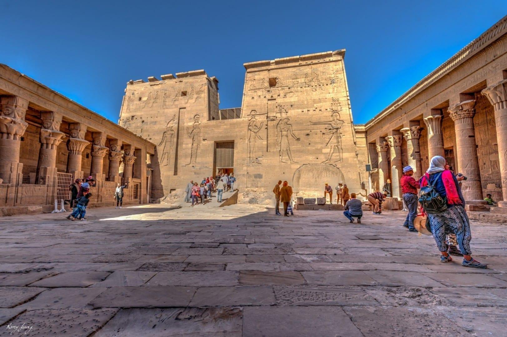 Templo de Philae Asuán Egipto