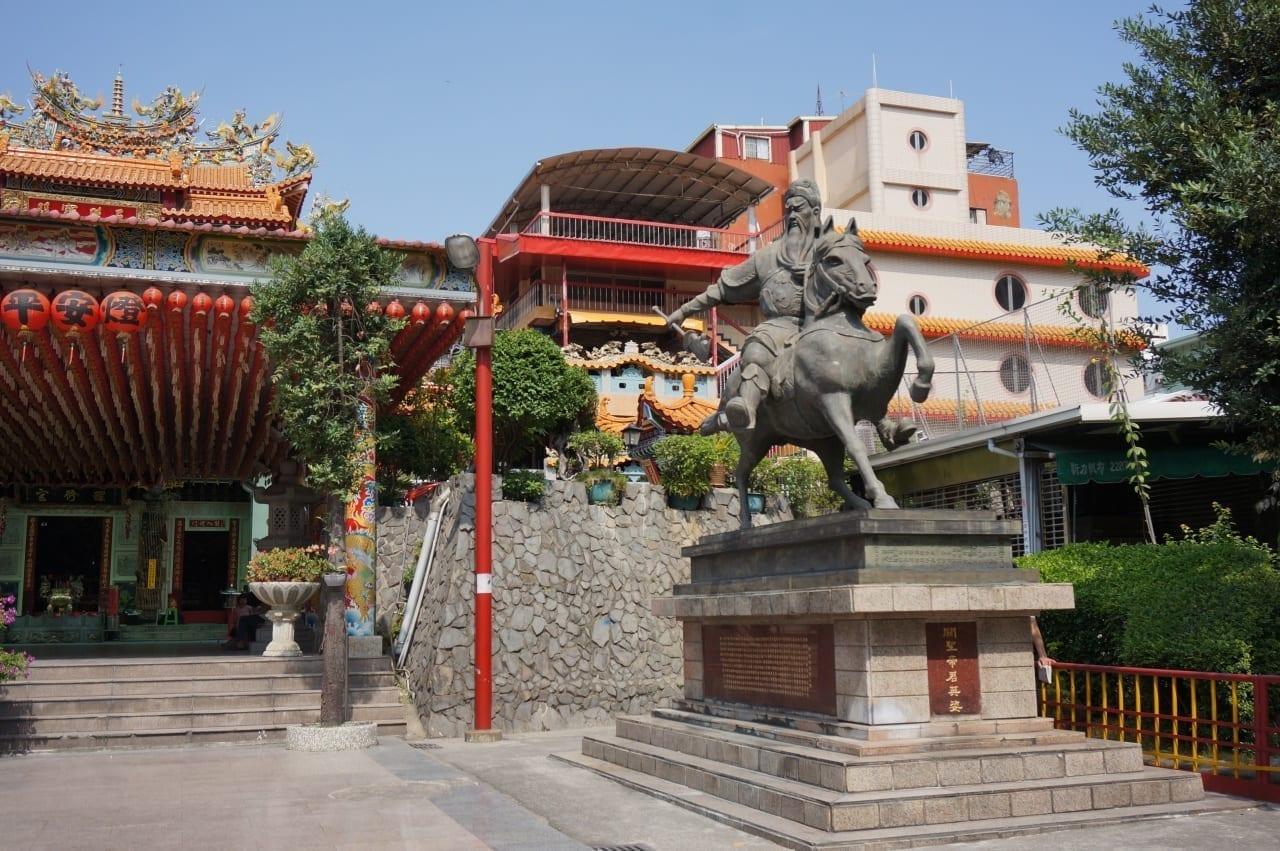 Templo en Taichung Taichung Taiwán