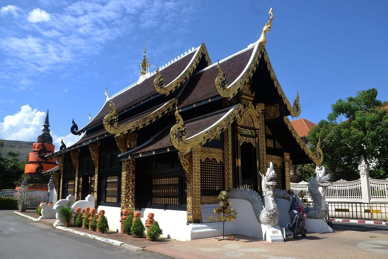 Templo Tailandia Chiang Mai Tailandia