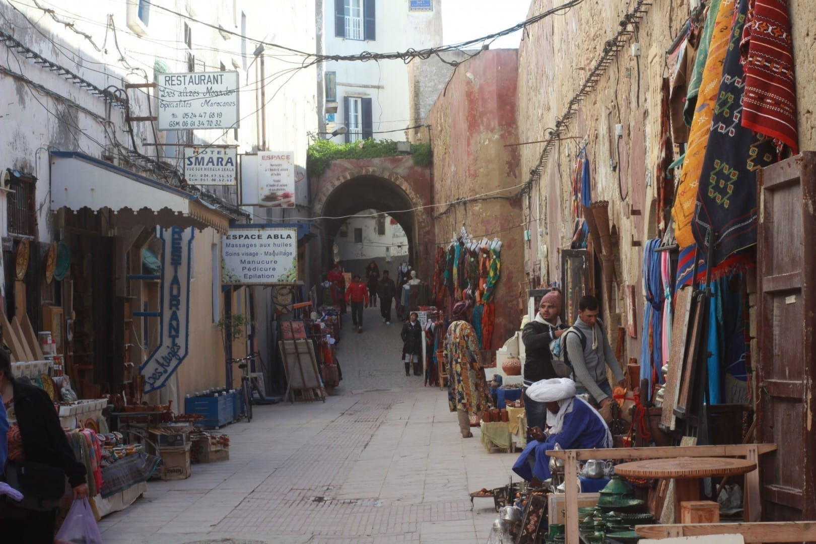 Tiendas de Essaouira Esauira Marruecos