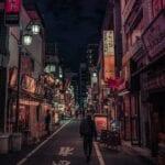 Tokio Noche Shinjuku Japón