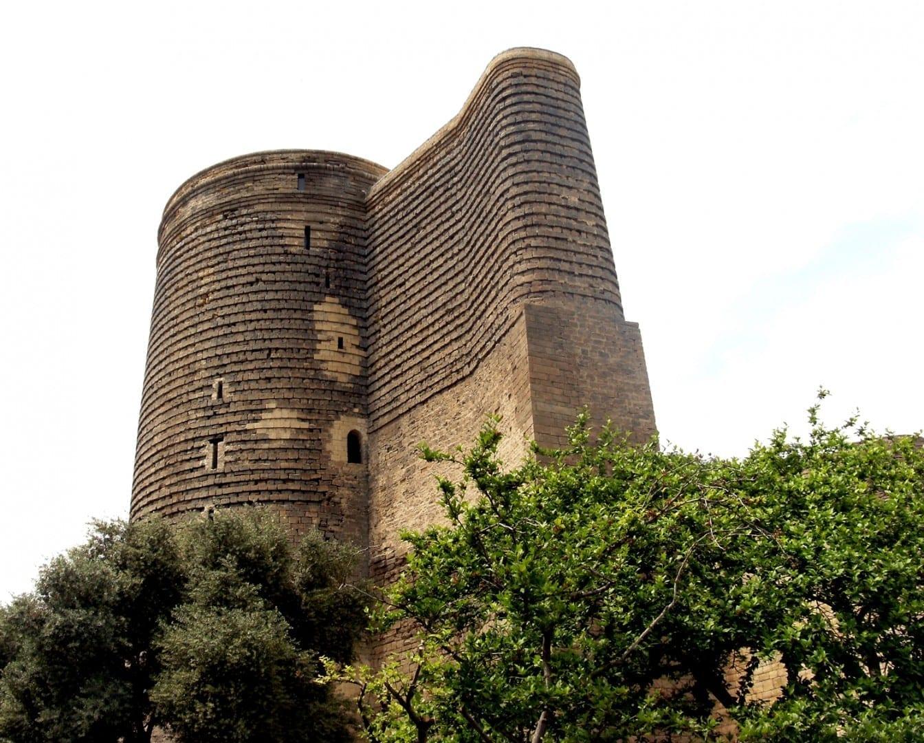 Torre de la Doncella Bakú Azerbaiyán
