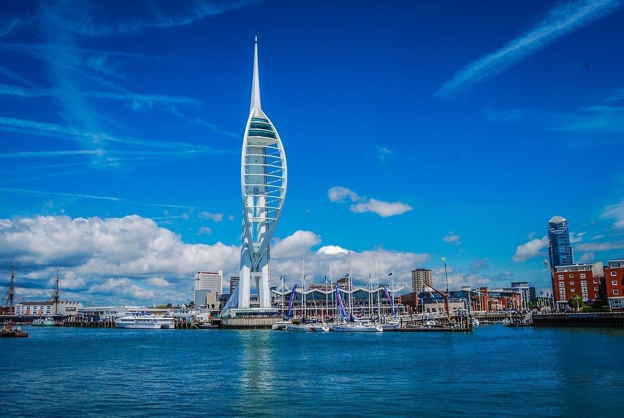 Torre De Spinnaker Torre Portsmouth Reino Unido
