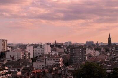 Toulouse Ciudad Rosa Color De Rosa Francia