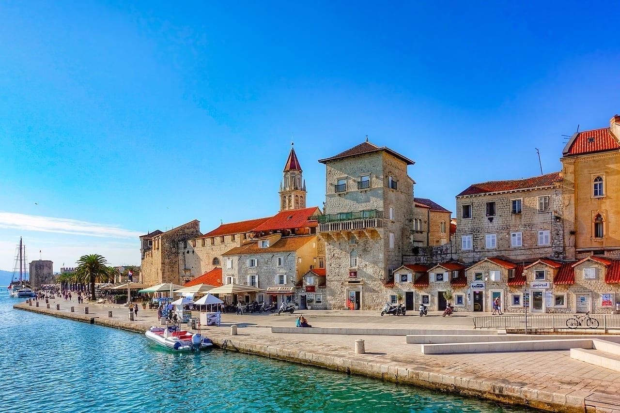Trogir Centro Historico De La Ciudad Croacia