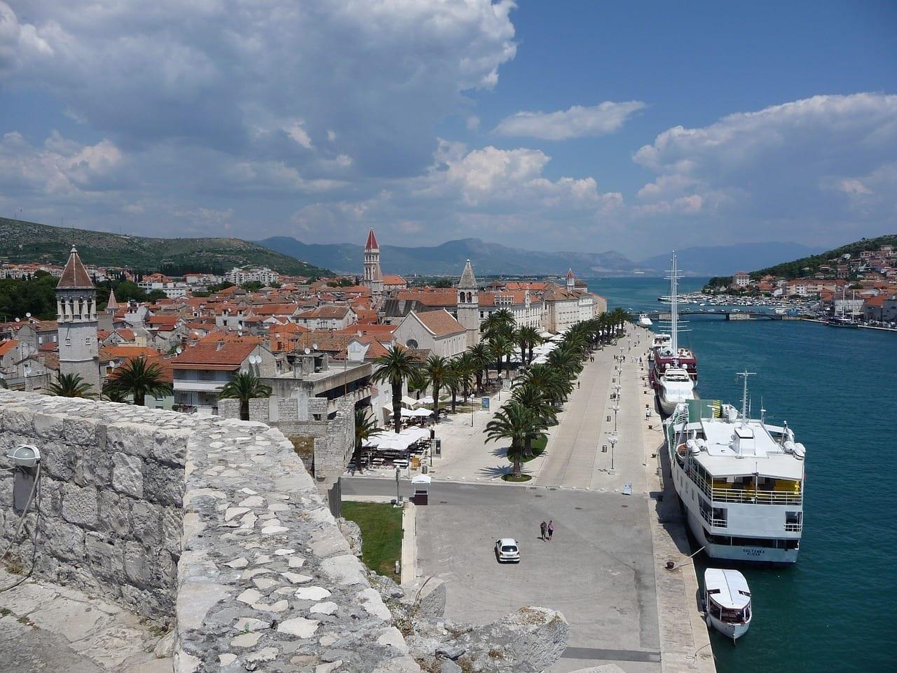 Trogir Croacia Mediterráneo Croacia