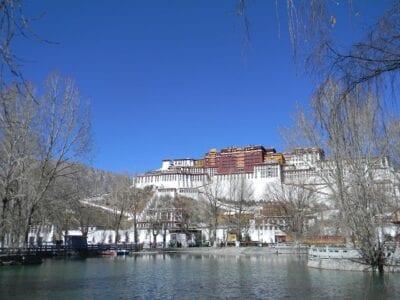 Turismo Lhasa Paisaje China