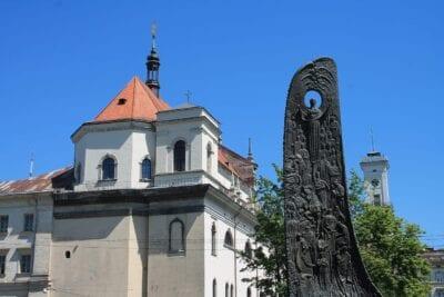 Ucrania Lviv Casco Antiguo Ucrania