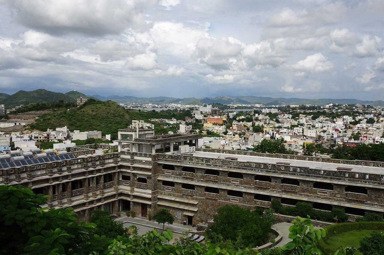 Udaipur Montaña Aravallis India