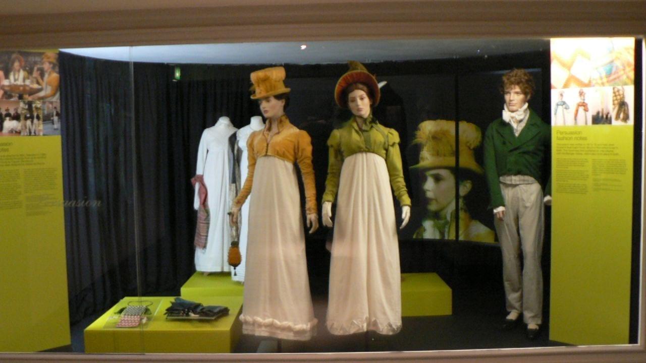 Una colección en el Museo del Traje Bath Reino Unido