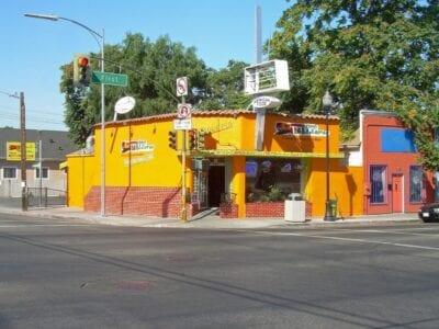 Una de las muchas taquerías de la calle Primera en San José San José CA Estados Unidos