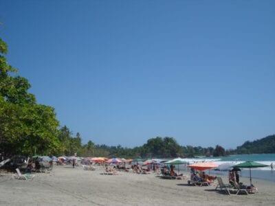 Una de las playas del parque Manuel Antonio Costa Rica