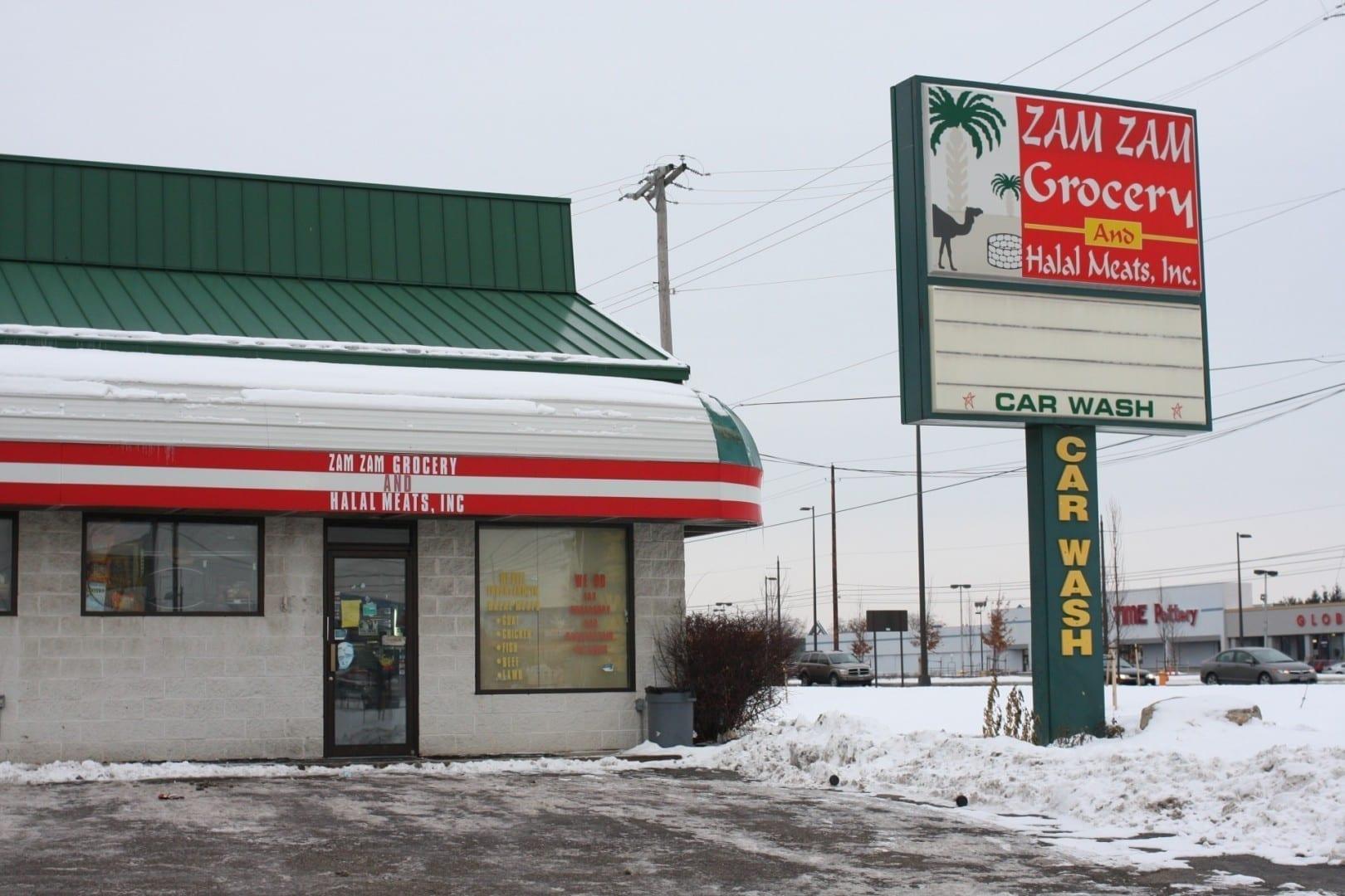 Una tienda de comestibles somalí en Columbus Columbus OH Estados Unidos