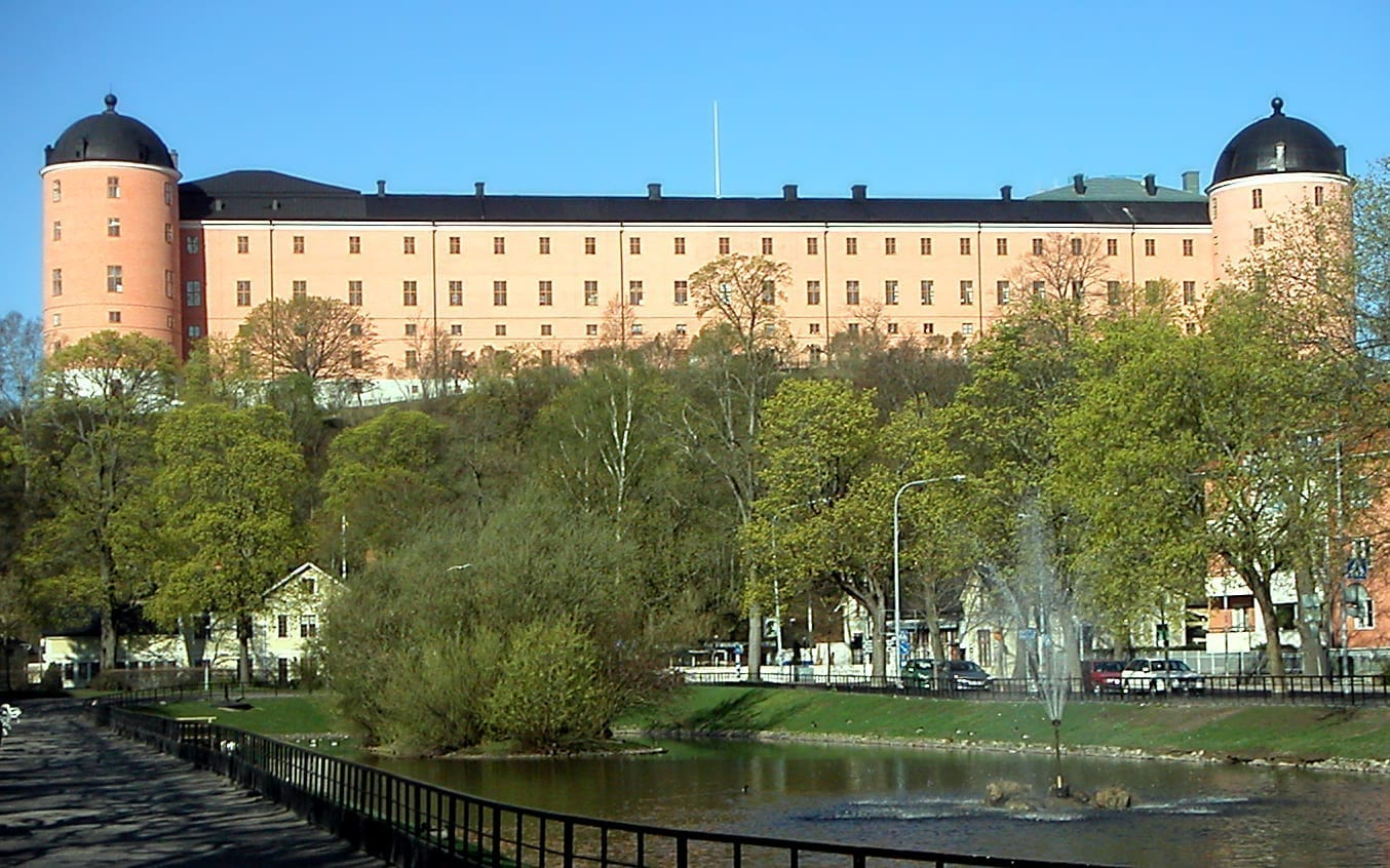 Uppsala Castle. Uppsala Suecia