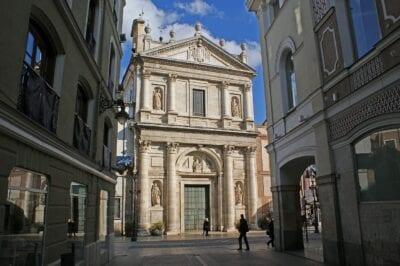 Valladolid Arquitectura Iglesia De Las Angustias España