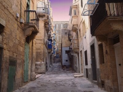 Valletta Callejón La Valeta Callejón Malta