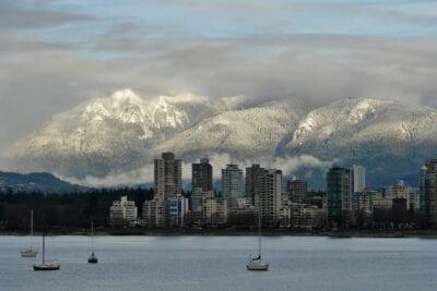 Vancouver Paisaje Urbano Escénico Canadá