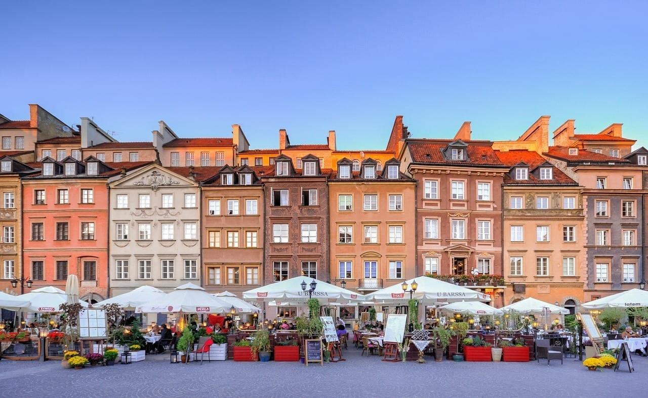 Varsovia Casco Antiguo Europa Polonia