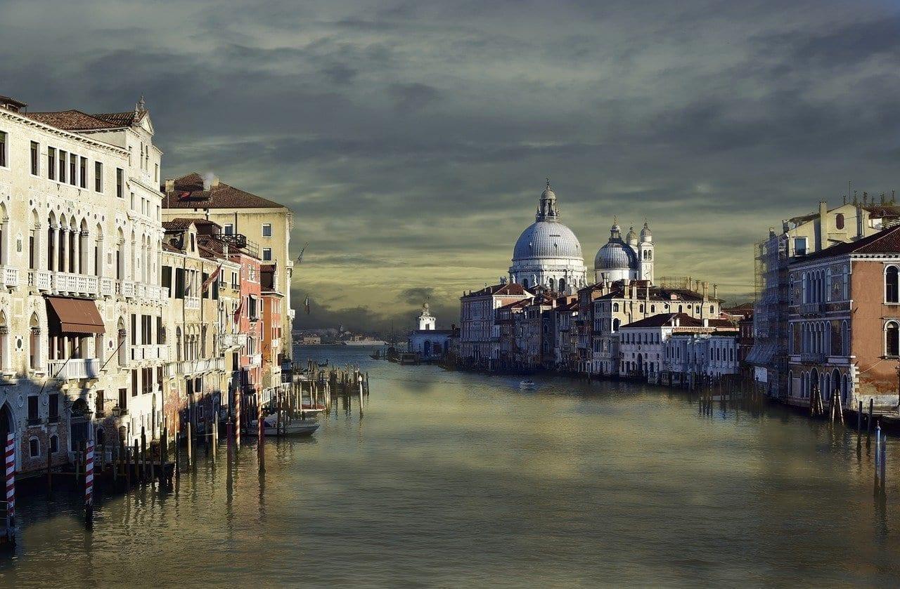 Venecia Arquitectura Centro Historico Italia