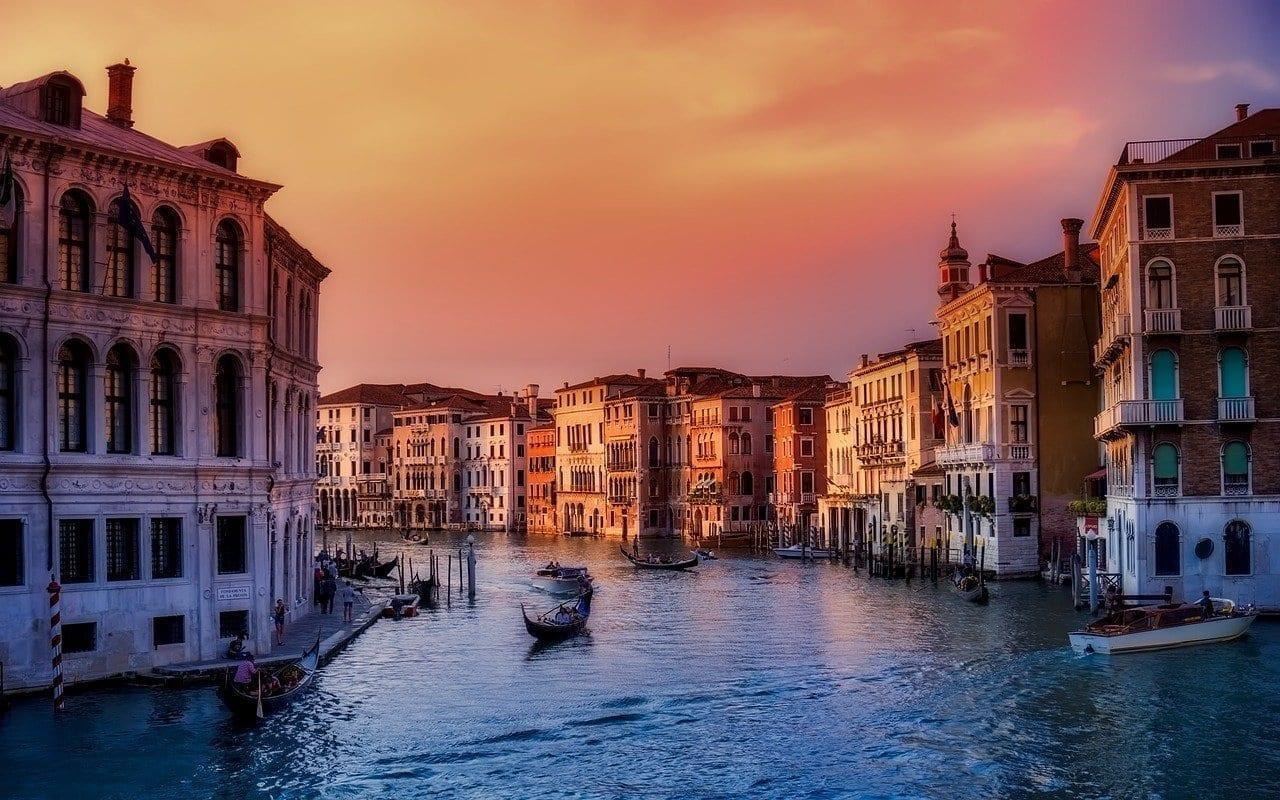 Venecia Italia Barcos Italia