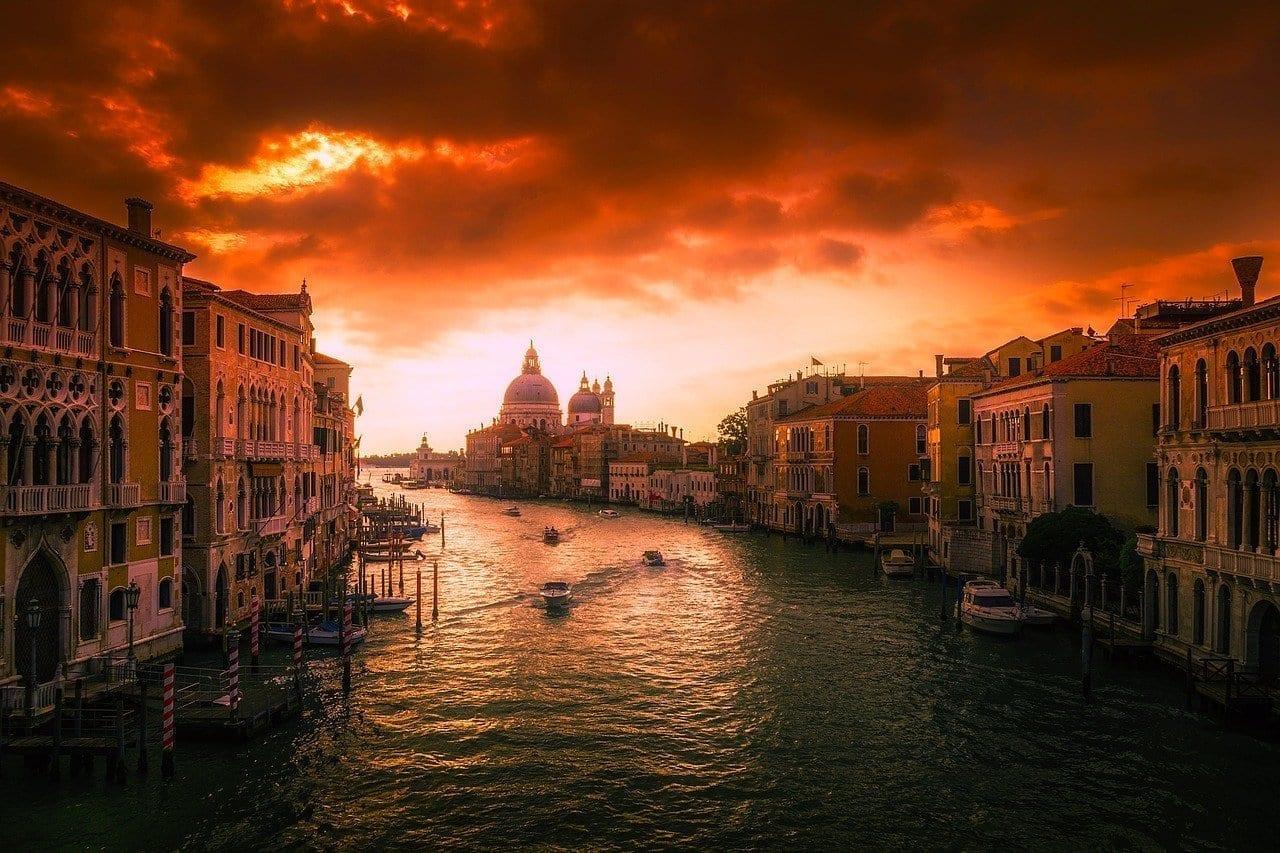 Venecia Italia Ciudad Italia