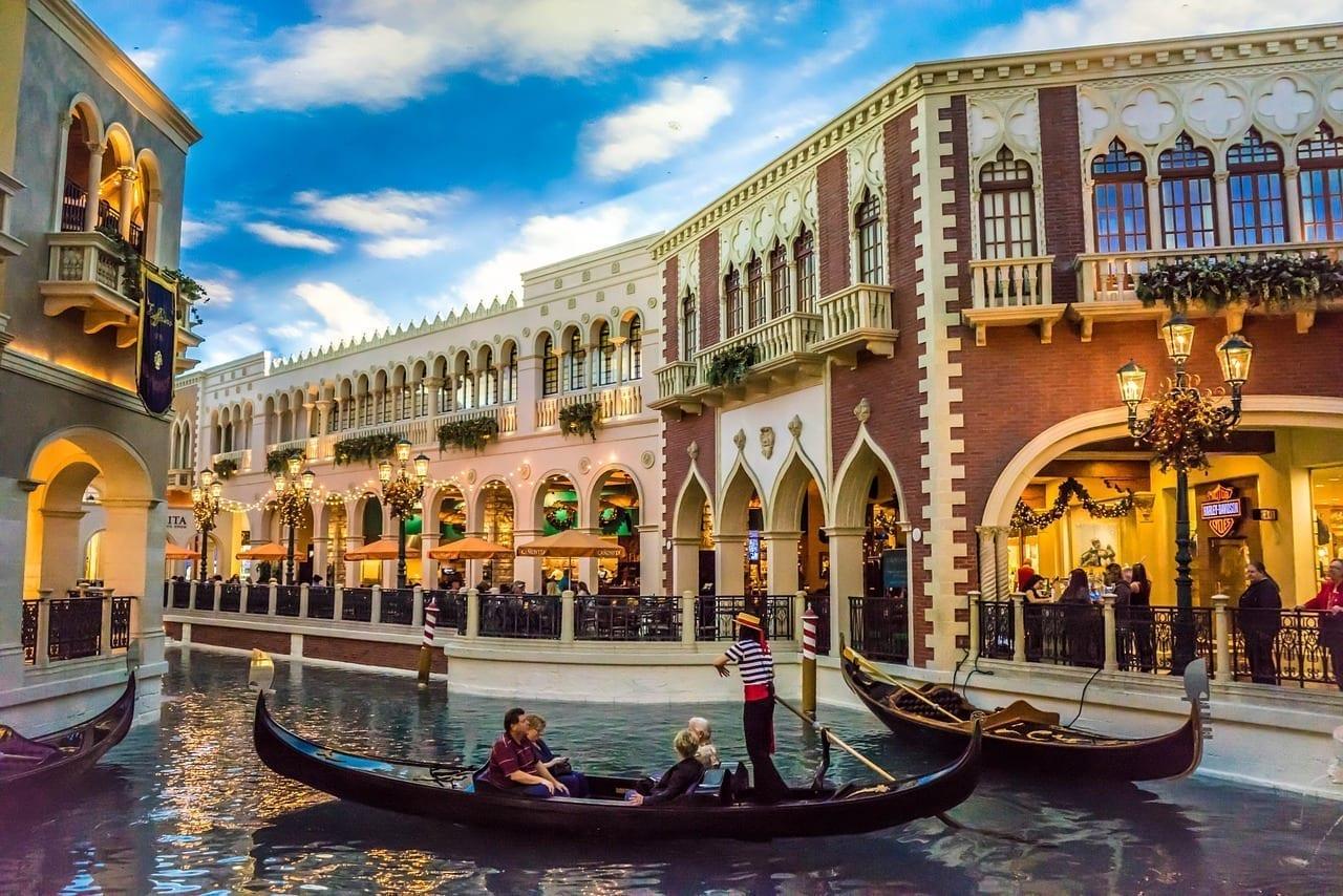 Veneciana Las Vegas Góndola Estados Unidos