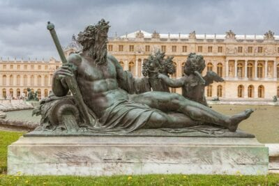 Versalles París Estatua Francia