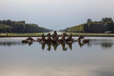 Versalles Parque Fuente Francia